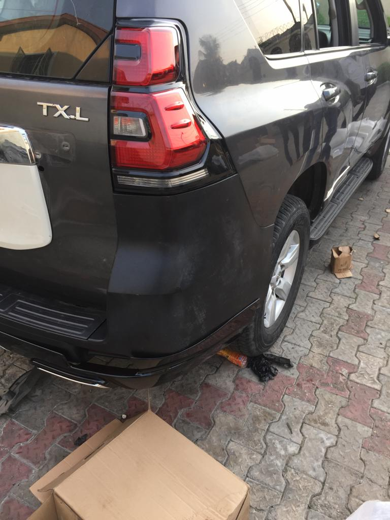 Do You Know You Can Upgrade Your  Toyota Prado 2010 Model to 2018 Model - Call or Whatsapp - 08184176747