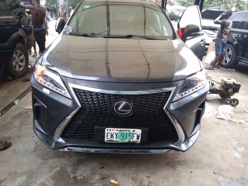 Let Us Upgrade Your Lexus Rx350 2010 Model to 2018 Model at KC Enterprises Ltd (Call or Whatsapp - 09064314201)