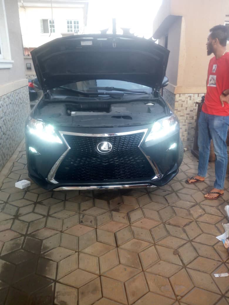 Upgrade Your Lexus Rx350 2010 Model to 2018 Model at KC Enterprises Ltd (Call or Whatsapp - 08184176747)