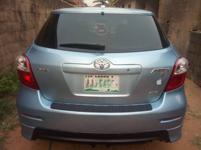 Registered 2009 Toyota Matrix FOR SALE (Call OR Whatsapp - 08057595946)