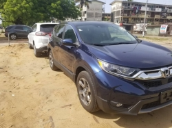 2018 Blue Honda CRV For Sale (Call or Whatsapp - 09035768256)