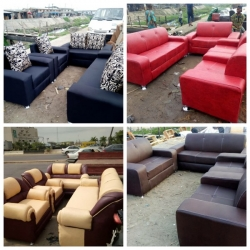 7 Seater Quality Sofa For Sale (We have both Leather and Fabric)
